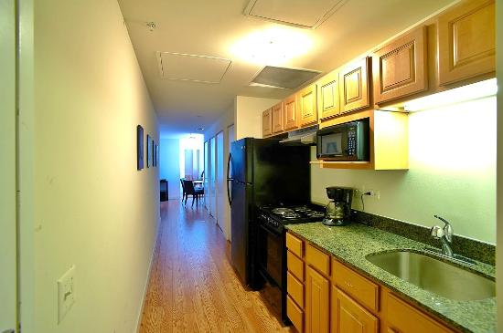 The Pittsfield Hotel: 2 Bedroom Suites   Kitchen