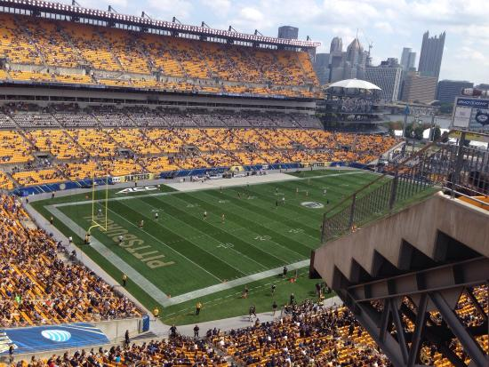 Bud Light Beer Garden View Picture Of Heinz Field