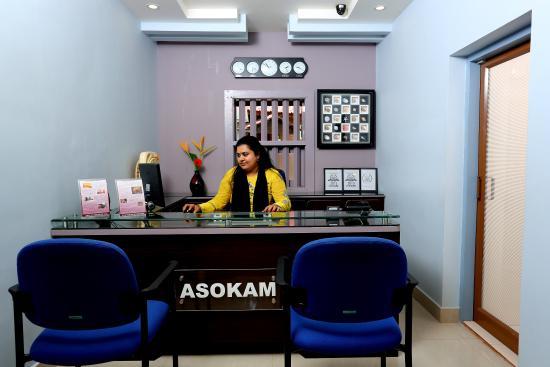 Asokam Beach Resort: Reception