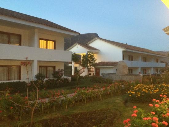 Hotel Agustos Urubamba: Vista do apartamento