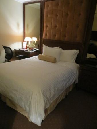 The Iroquois New York: hotel room
