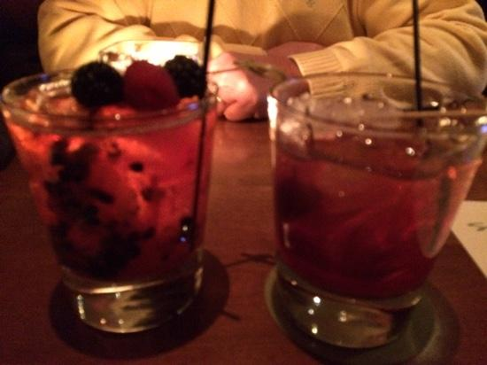 Seasons 52: Bourbon Berry Bramble and New Old Fashioned