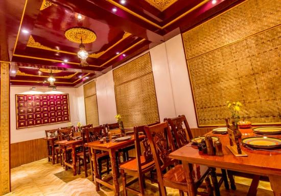 Deco - Picture of Mingalabar Myanmar Restaurant, Mandalay - TripAdvisor