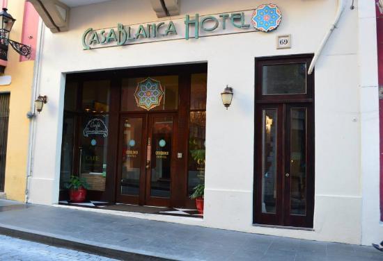 Front Of The Casablanca Hotel Old San Juan Puerto Rico
