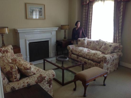 High Quality Casa Real Hotel At Santa Rita Vineyards: My Suiteu0027s Living Room
