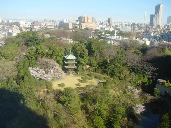 ホテル椿山荘東京 庭園, ガーデンビューの部屋から見たお庭です