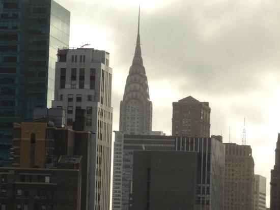 Вид с крыши отеля(40 этаж)