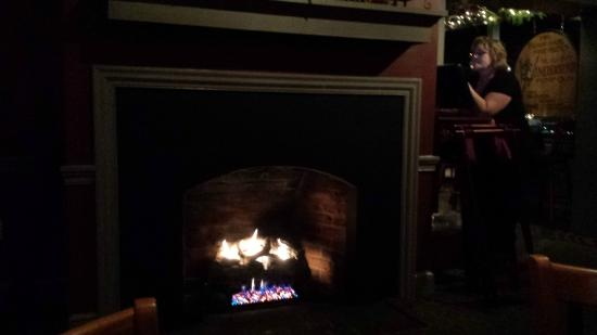 Fireside Tavern: Dining Room Fireplace