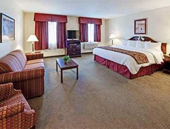 Hawthorn Suites by Wyndham Akron/Seville : 1 King Bed Room