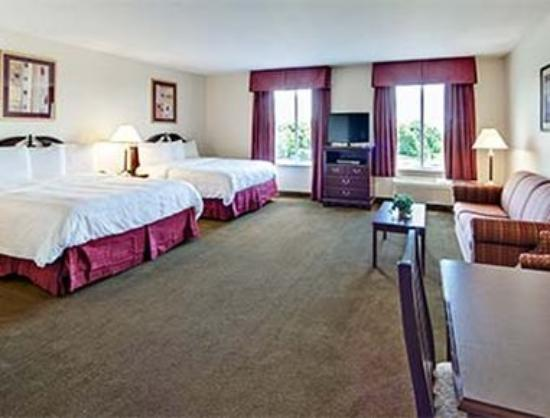 Hawthorn Suites by Wyndham Akron/Seville : 2 Queen Beds Room