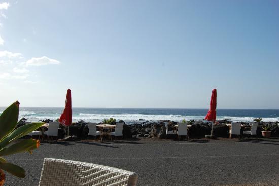 Restaurante El Caleton : The view from El Caleton, El Golfo