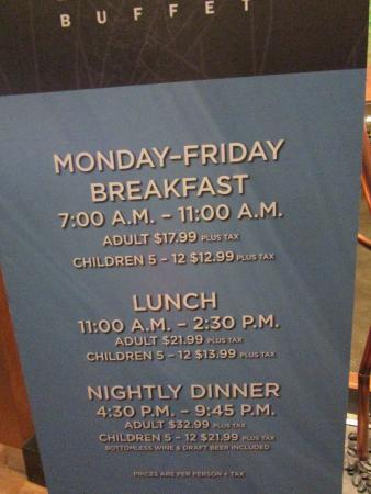 pricing picture of bayside buffet las vegas tripadvisor rh tripadvisor co nz mandalay bay buffet price las vegas mandalay bay buffet price las vegas