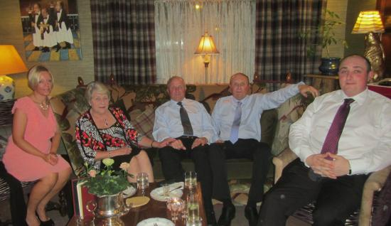 Winteringham Fields: Family in the lounge
