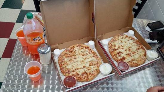 Jet's Pizza Fort Lauderdale : excelenteeeeeeee !!!!!!
