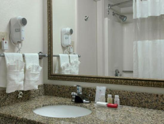 Motel 6 Jacksonville : Bathroom