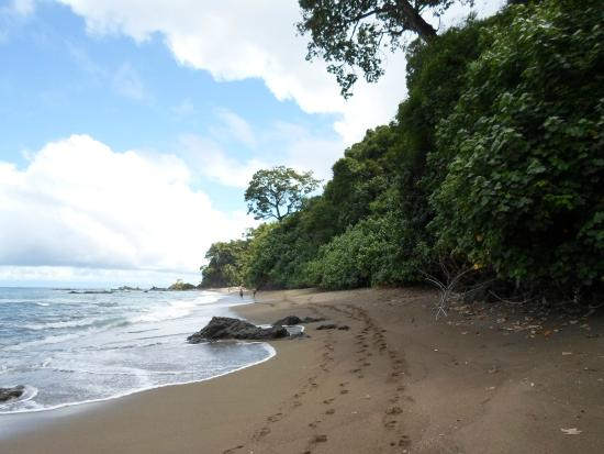Дрейк-Бэй, Коста-Рика: From the coast side of the island
