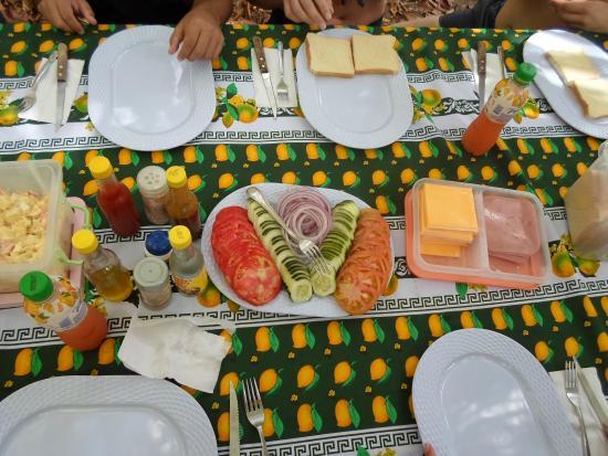 Дрейк-Бэй, Коста-Рика: The fantastic food you get