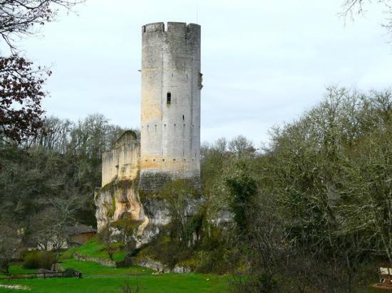 Château de Gavaudun : Castillo