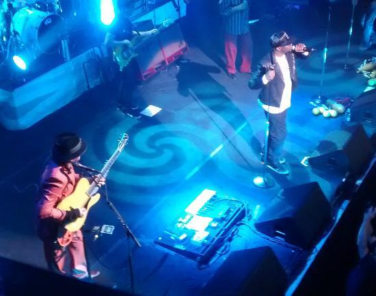 House of Blues : Carlos Santana & Wyclef Jean