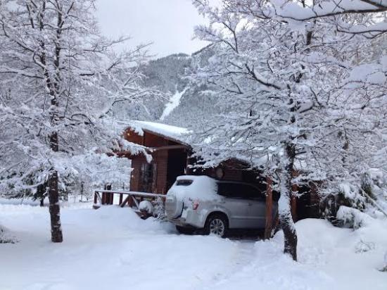 Caba a inca en invierno picture of cabanas ruca pehuen malalcahuello tripadvisor - Cabana invierno ...