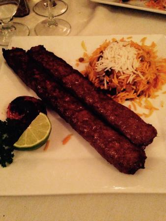 Marjan Fine Persian Grill: Sirloin Kebob