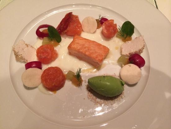 Hugos Restaurant: varietà di salmone