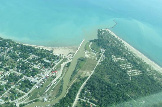 Tillsonburg, Kanada: Some Lake Erie shoreline