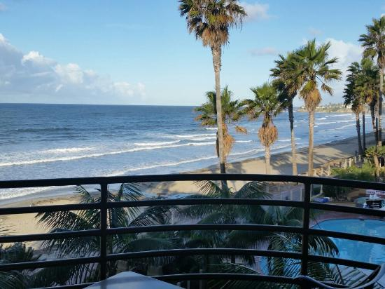 Pacific Terrace Hotel: View from room 308