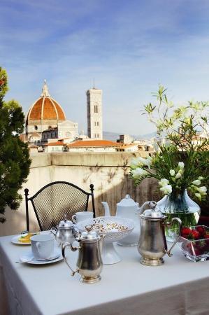 B4 Astoria Firenze: Terrace