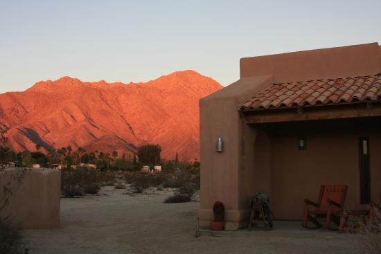 Sunrise at Borrego Valley Inn