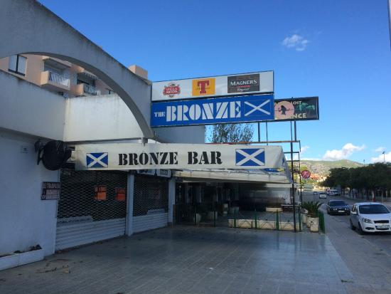 The Bronze Bar Magaluf