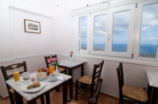 Villa Ilias Caldera Hotel : Breakfast Lounge