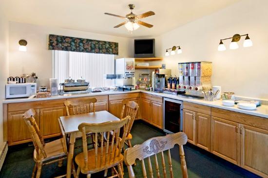 Americas Best Value Inn Powell: Breakfast Area