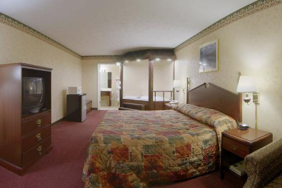 Mount Pleasant, TN: Jacuzzi Room