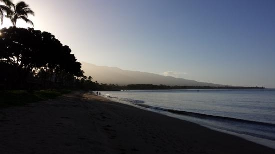 Kihei Kai Oceanfront Condos: Early morning