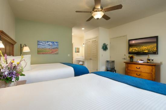 The Lexington at Jackson Hole Hotel & Suites: One Bedroom Suite Two Queen Beds