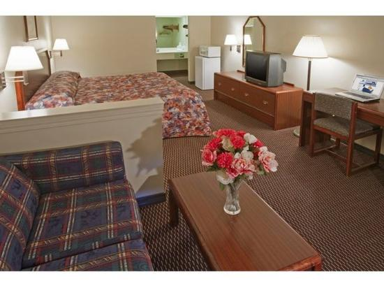 Americas Best Value Inn and Suites : One King Suite