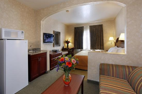 Prominence Hotel & Suites: Tradition King Suite with sofabed, business center