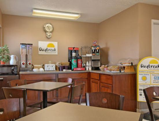 Days Inn Brownsville : Breakfast Area