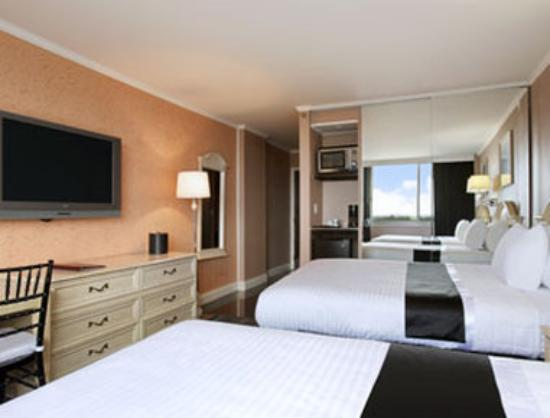 Meadowlands View Hotel: Executive Two Double Bed Room