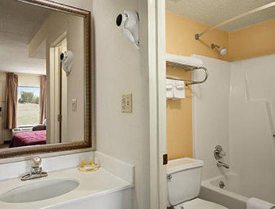 Days Inn Farmville: Bathroom