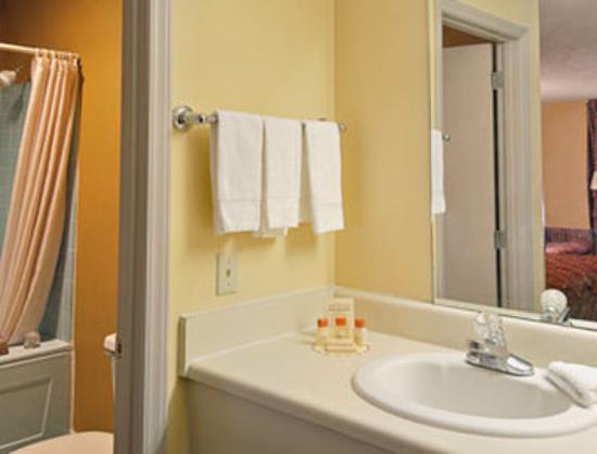 Days Inn Cheraw: Bathroom