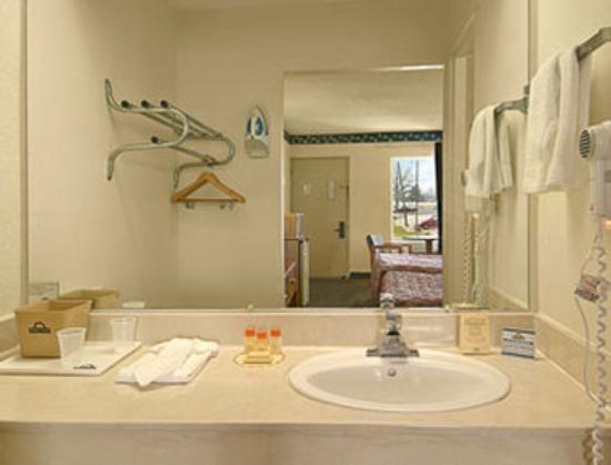 Rodeway Inn & Suites Manchester: Bathroom