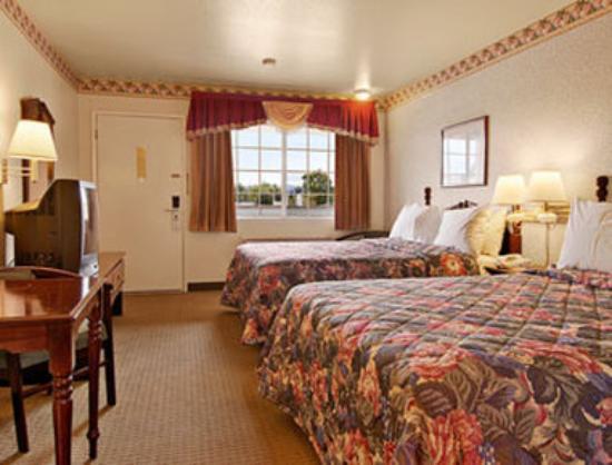 Ukiah, Californien: Standard Two Queen Bed Room