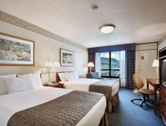 Ramada New Braunfels: Standard Two Double Room