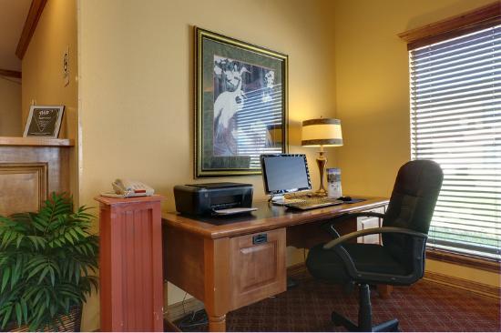 Americas Best Value Inn Rockport / Fulton : Business Center