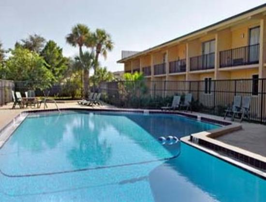 Howard Johnson Express Inn - Tampa North/Busch Gardens: Pool