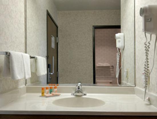 Howard Johnson Inn Manteno : Bathroom