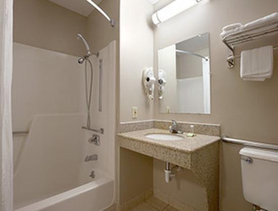 Super 8 Fremont NE: ADA Bathroom