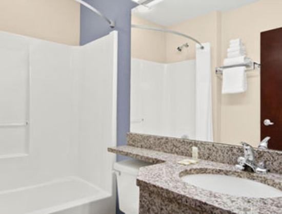 Microtel Inn & Suites by Wyndham: Bathroom